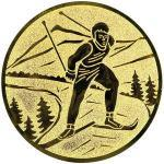 Emblém lyžování - LTK118