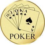 Emblém poker - LTK187