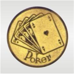 Emblém poker - E117