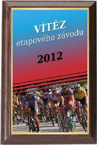 Døevìná plaketa - cyklistika - PLP3M24