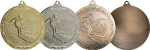 Medaile lyžování - MDS0005