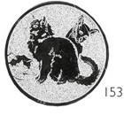 Emblém koèky - E094