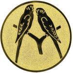 Emblém ptactvo exotické - LTK137