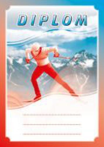 Diplom lyžování - bìžky - DP0012