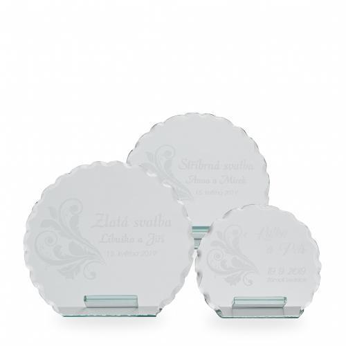 Sklenìná trofej - 18001