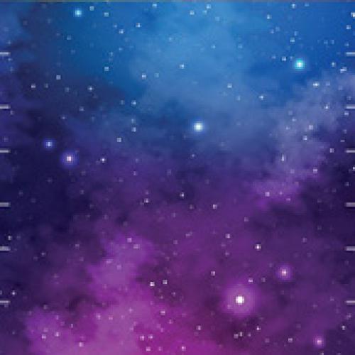 Rouška - vesmír