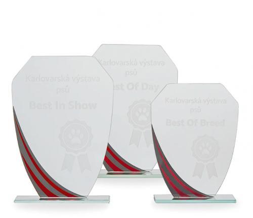 Sklenìná trofej - 18029 - zvìtšit obrázek