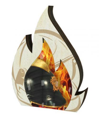 Plaketa - hasièi - WPP0010M05 + vlastní text - zvìtšit obrázek