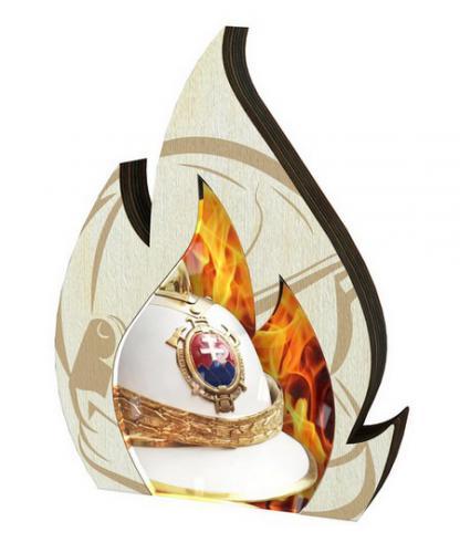 Plaketa - hasièi - WPP0010M04 + vlastní text - zvìtšit obrázek