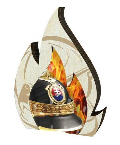 Plaketa - hasièi - WPP0010M03 + vlastní text - zvìtšit obrázek