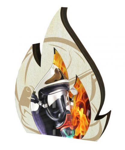 Plaketa - hasièi - WPP0010M02 + vlastní text - zvìtšit obrázek