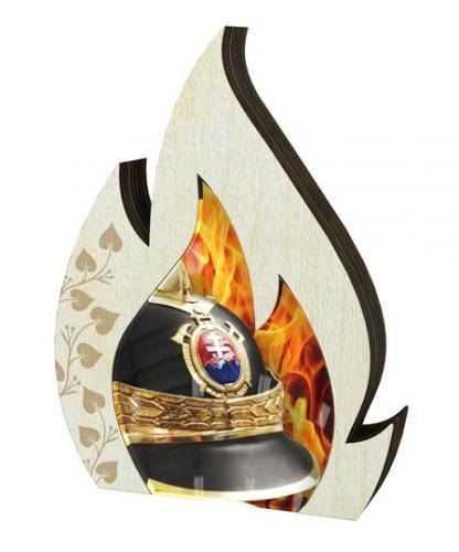 Plaketa - hasièi - WPP001M03 + vlastní text - zvìtšit obrázek