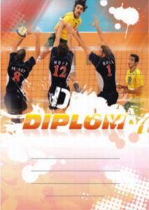 Diplom volejbal - 6636