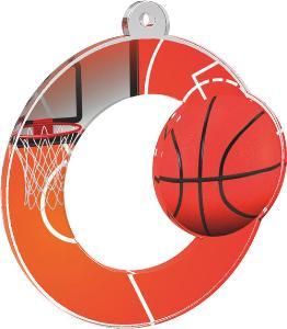Medaile - basketbal - MDA0010M03