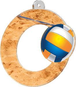 Medaile - volejbal - MDA0010M04