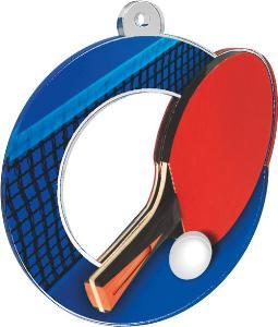 Medaile - ping pong - MDA0010M05