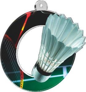 Medaile - badminton - MDA0010M06
