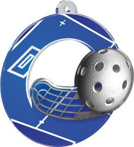 Medaile - florbal - MDA0010M07