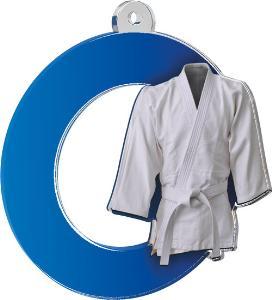 Medaile - karate - MDA0010M09
