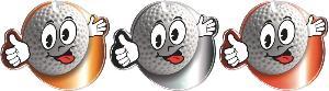 Medaile - golf - MDA0011M03