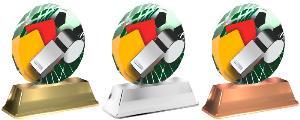 Plaketa fotbal - rozhodèí - ACE2003M4
