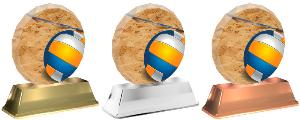 Plaketa volejbal plážový - ACE2003M15