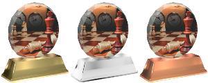 Plaketa šachy - ACE2003M31