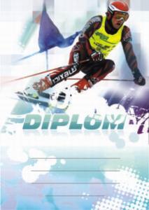 Diplom lyžování - sjezd - 6647