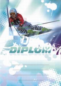 Diplom lyžování - sjezd - 6648