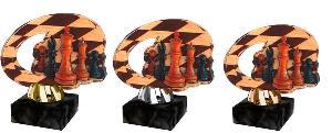 Plaketa šachy - ACL2102M34