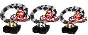 Plaketa motokáry - ACL2102M38