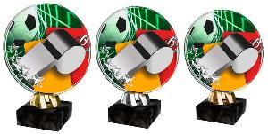 Plaketa fotbal - rozhodèí - ACL2103M7