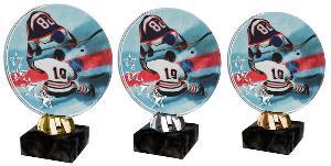Plaketa hokej - ACL2103M9