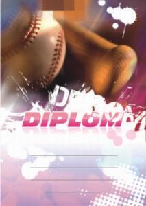 Diplom baseball - 6657