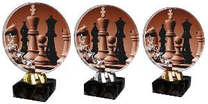 Plaketa šachy - ACL2103M40