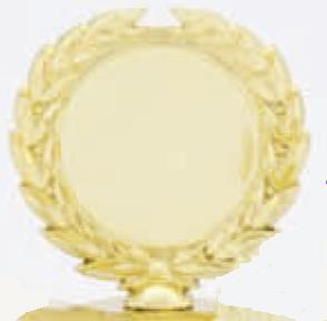 Držák na emblém - zlatý