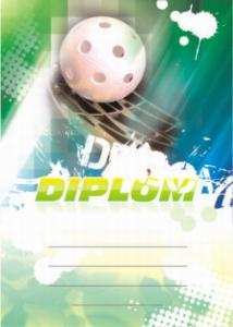 Diplom florbal - 6614