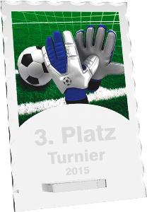 Fotbalová trofej - brankáø - CR4244M3