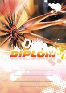 Diplom šipky - 6678
