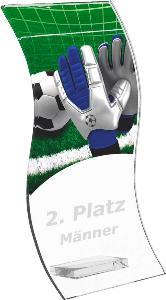 Fotbalová trofej - brankáø - CR4142M3