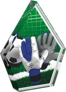 Fotbalová trofej - brankáø - CR20218M2