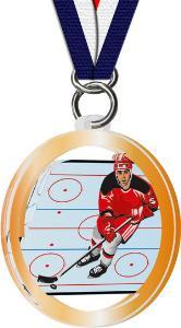 Hokejová medaile - MDAH0002M3