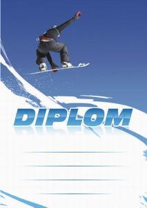 Diplom snowboard - 6652