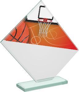 Basketbalová sklenìná trofej - CRT20004M2