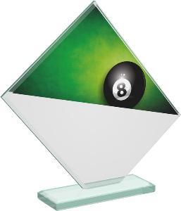 Kuleèníková sklenìná trofej - CRT20004M3