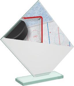 Hokejová sklenìná trofej - CRT20004M9