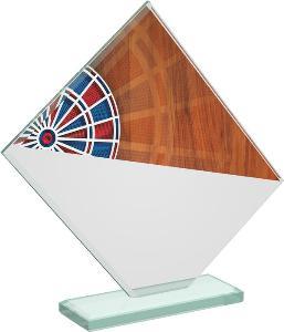Šipky sklenìná trofej - CRT20004M16