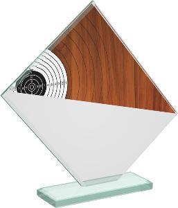 Støelecká sklenìná trofej - CRT20004M17