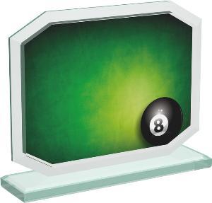Kuleèníková sklenìná trofej - CRT20006M2