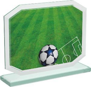 Fotbalová sklenìná trofej - CRT20006M5